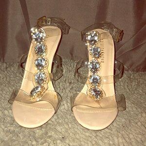 Brand new heels, never been worn.